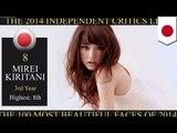 「世界で最も美しい顔100人」 桐谷美玲が8位
