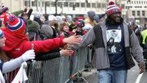 LeGarrette Blount Mocks Marshawn Lynch at Patriots Parade with Vulgar Shirt
