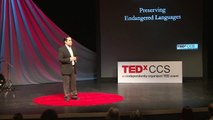 Preserving endangered languages: Barry Mosses at TEDxCCS