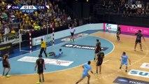 Handball kung fu tir dans le dos - Chambéry vs Cesson Rennes - 2015