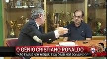 Fernando Santos elogia  génio  Cristiano Ronaldo