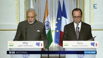 L'Inde confirme une commande d'avions Rafale à la France