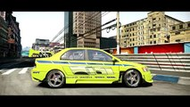 NFS Shift 2 - Mitsubishi Evo 9 from 2Fast 2Furious