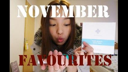 November Favourites ✿ 11月最愛   SpaceForHer Christy