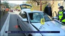 Aveyron : un chauffard percute un policier lors d'un contrôle routier