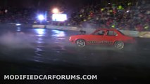 Mr Skid Towing (Nudge) gets PHATTY out on the burnout pad at Burnouts Unleashed 2014