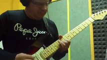 Deep purple - Smoke on the water (solo cover)