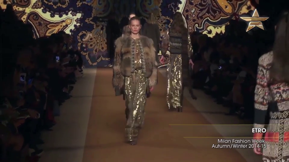 Fashion Week ETRO Milan Fashion Week Autumn Winter 2014-15