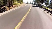 Mount Rose road bike descent Messiah mountain reno nevada extreme downhill gopro hero