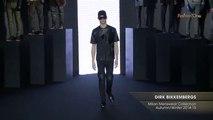 Men DIRK BIKKEMBERGS Milan Menswear Collection Autumn Winter 2014-15