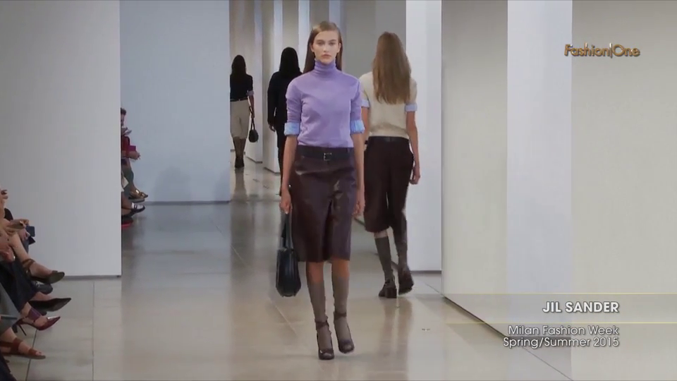 Fashion Week From the Runway JIL SANDER Milan Fashion Week Spring Summer 2015