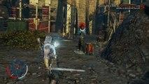 Tierra Media Sombras de Mordor, gameplay parte 6, Hozu Hoja negra