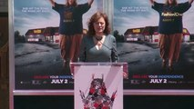 Events Invitation Only Melissa McCarthy Hand and Foot Print Ceremony