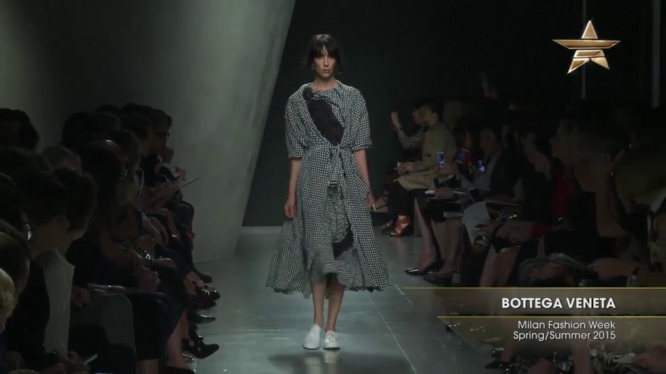 Fashion Week From The Runway BOTTEGA VENETA Milan Fashion Week Spring Summer 2015