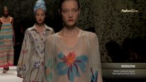 Fashion Week From The Runway MISSONI Milan Fashion Week Spring Summer 2015