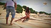Photographer Ben Scott Behind the Scenes with Lauren Vickers for iStudio