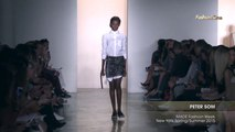 Fashion Week From The Runway PETER SOM MADE Fashion Week New York Spring Summer 2015