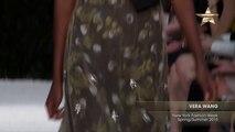 From the Runway Vera Wang New York Fashion Week Spring Summer 2015