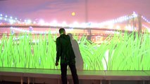 Interactive Wall Projection - Levy Lighting | NYC, iShadow