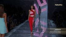 Fashion Week From The Runway VERSACE Milan Fashion Week Spring Summer 2015