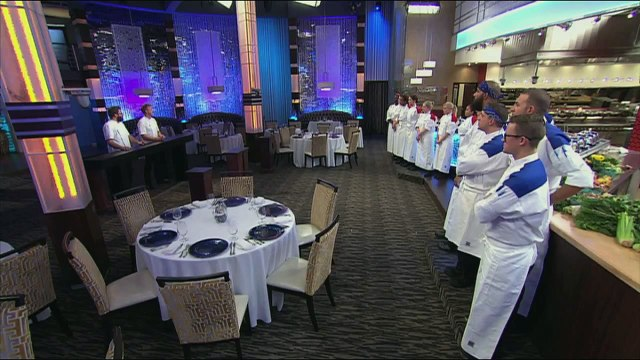 HELL'S KITCHEN   Guest Judge Michael Cimarusti from  16 Chefs Compete    FOX BROADCASTING