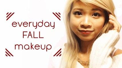 Everyday Fall Makeup Tutorial | Hellosharla