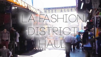 LA Fashion District Haul | Hellosharla