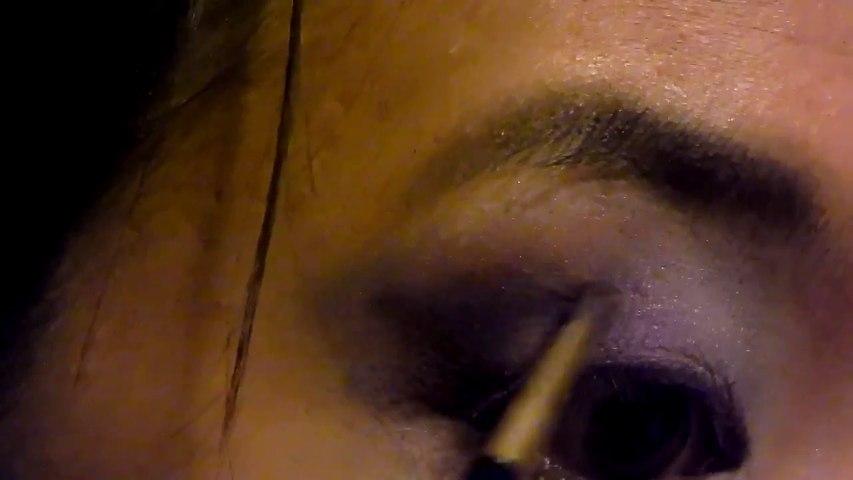 Dramatic New Year's Eve Makeup   Hellosharla