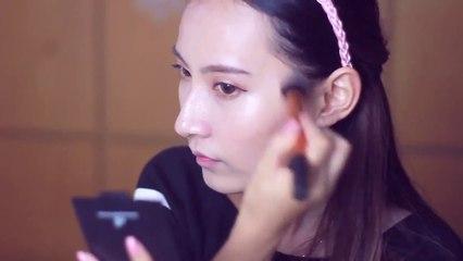 万圣节兔女郎妆 bunny make up for halloween
