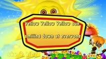 Yellow Yellow Yellow sun  RHYMES  KIDZ
