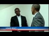Obama est le Président le plus cool du monde. Le comportement qu'il a en face d'Usain Bolt en est une preuve