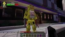 Minecraft Mod Showcase FIVE NIGHTS AT FREDDY'S 2 MOD