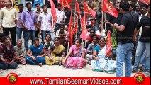 NTK 20150409 Protest at Kundrathur against Andhra for Killing 20 Tamils