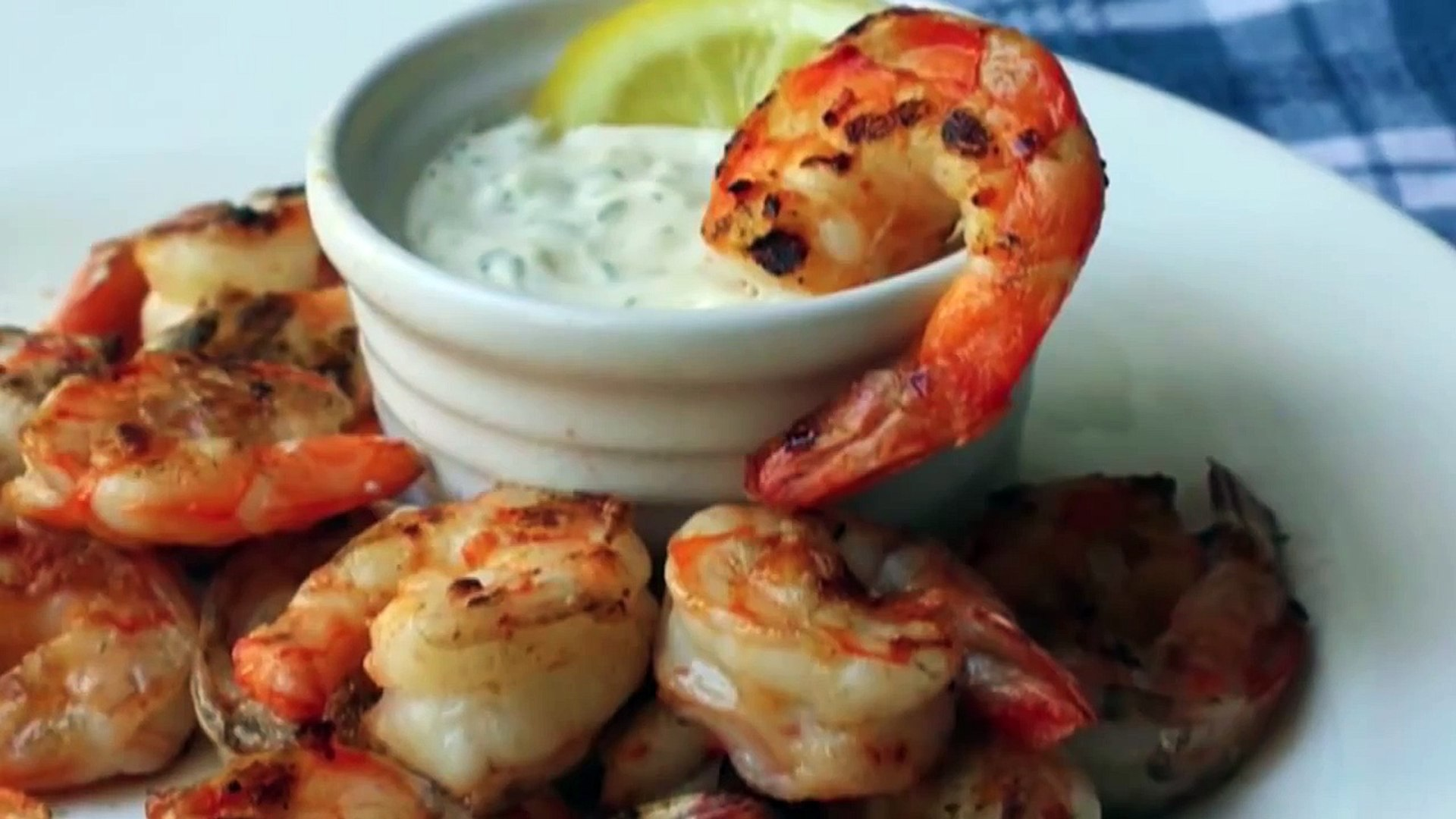 Food Wishes Recipes - Grilled Shrimp with Lemon Aioli Recipe - Grilled Shrimp Recipe with Cured Lemo