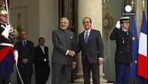 Accord pour la vente à l'Inde de 36 avions Rafale