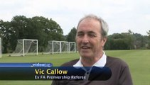 Do you have to have an interest in football to become a referee?: Becoming A Referee