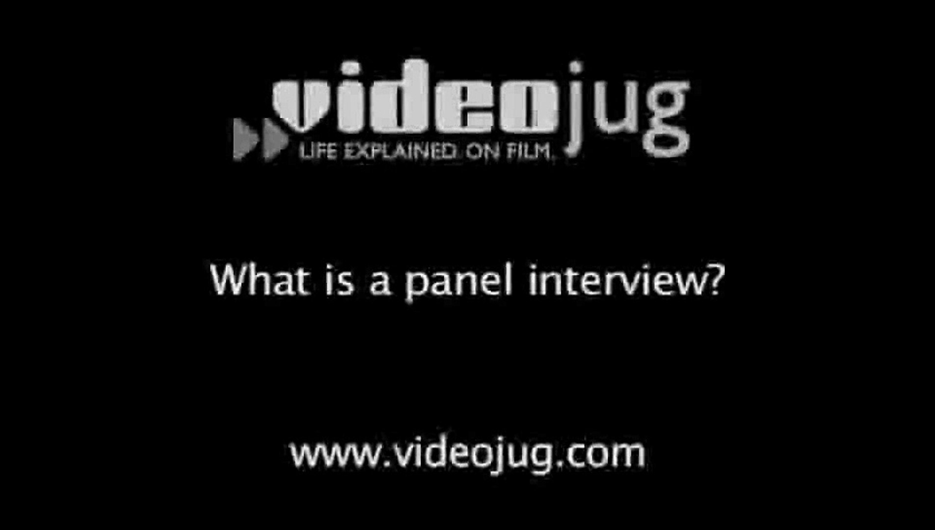 What is a panel interview?: Panel Interviews