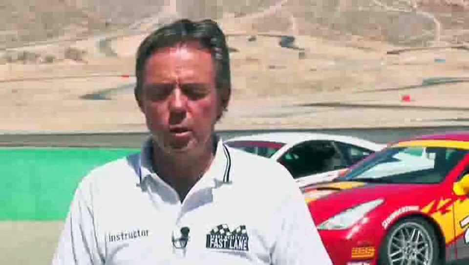 What does a blue with diagonal yellow stripe mean in auto racing?: Auto Racing Flag Rules
