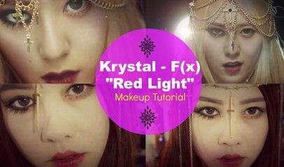 "Krystal F(x) - ""에프엑스 - Red Light"" Makeup Tutorial"