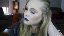 GRWM: Sultry Eyes & Navy Blue Lips!
