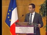 """Archive - Benoît Hamon : """"Penser et construire de nouveaux référentiels pour concevoir les politiques économiques de demain"""""""