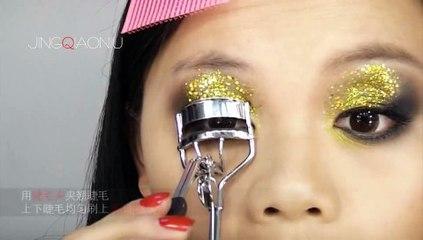 菁俏妞_JingQiaoniu_第三期化妆教程之圣诞派对妆_12.22.2011