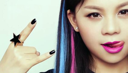 菁俏妞_JingQiaoniu_第二十六期化妆教程之摇滚甜心妆_10.25.2013