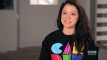TATIANA MASLANY Answers Who's the Better Kisser: Paul or Delphine - ORPHAN BLACK: Ask OB