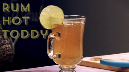 Warm Up With A Rum Hot Toddy