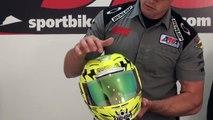 Icon Airmada Helmet Review from SportbikeTrackGear.com