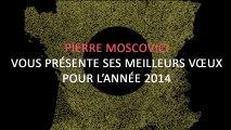 Archive - Voeux 2014 de Pierre Moscovici