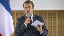 Archive - Emmanuel Macron : conférence de presse sur le projet de loi pour l'activité