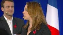 Archive - Emmanuel Macron et Axelle Lemaire présentent leurs voeux à la French Tech