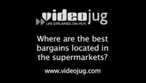 Where are the best bargains located in the supermarkets?: Identifying Shop Tricks
